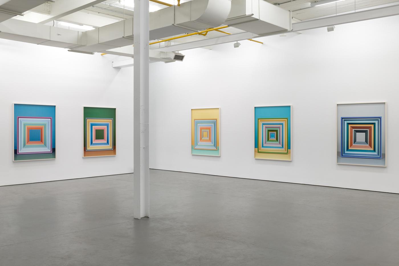 Whitehot Magazine | Jessica Eaton: Iterations (I) at Galerie Antoine Ertaskiran