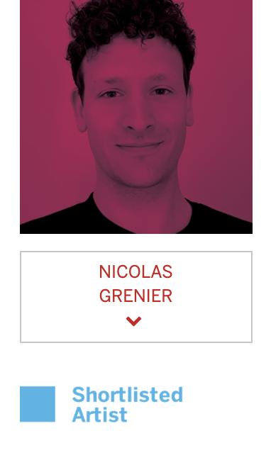 NICOLAS GRENIER - Finaliste au Prix Sobey 2019