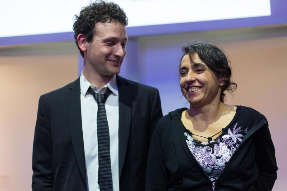 La Presse | Prix Louis-Comtois et Pierre-Ayot: Aude Moreau et Nicolas Grenier récompensés
