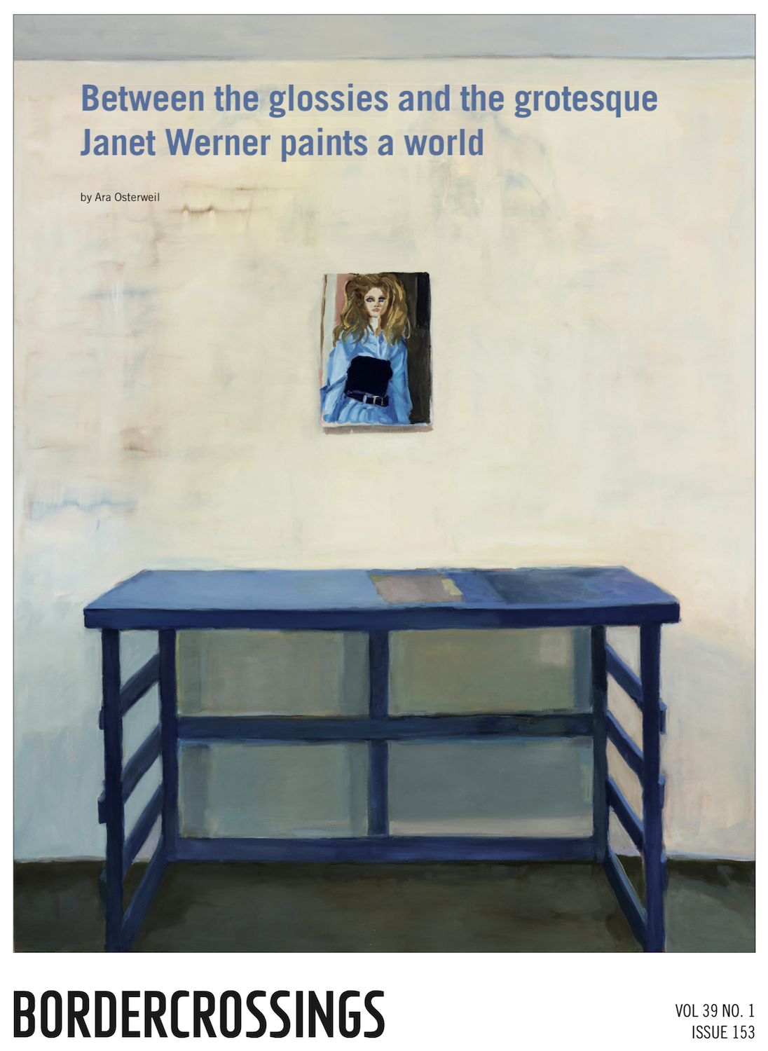 Janet Werner in Border Crossings