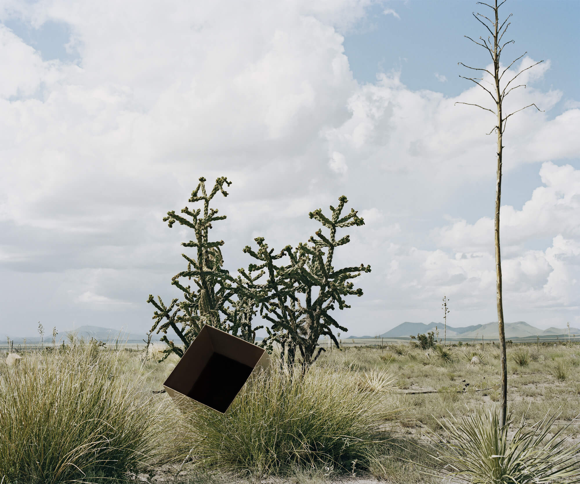 Single Cube Formation No.3, Marfa, TX