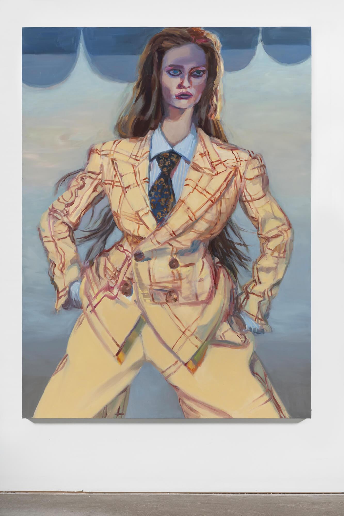 Lauren (yellow suit)