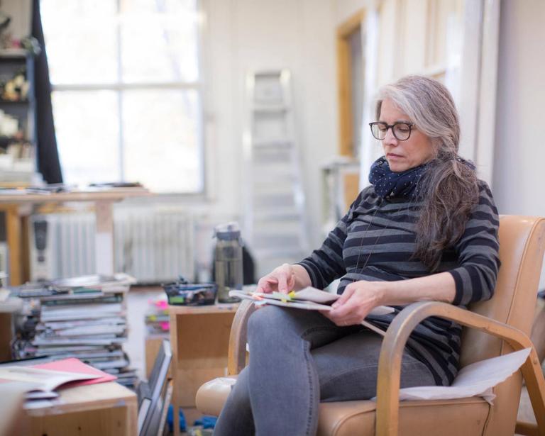 La Presse, 2019 | Janet Werner au MAC, peindre pour l'imaginaire